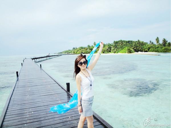 马尔代夫两岛游白金岛+薇拉瓦鲁岛(AV岛)。碧海蓝天之旅,海量照片HOHO.沉醉在那片蓝色中